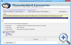 Switch from Thunderbird to Outlook 7.4.9
