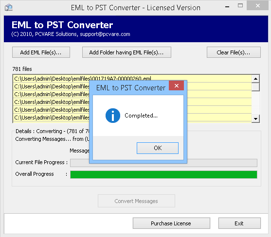 Superb EML to PST Migration