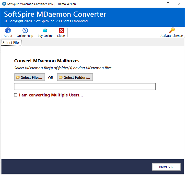MDaemon User Import to Outlook 2016