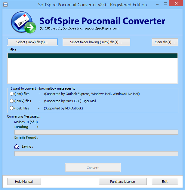 Pocomail to Outlook Converter